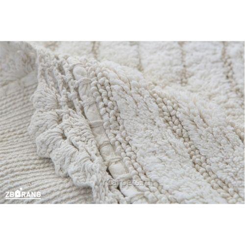 Круглый ковер Crochet, слоновая кость