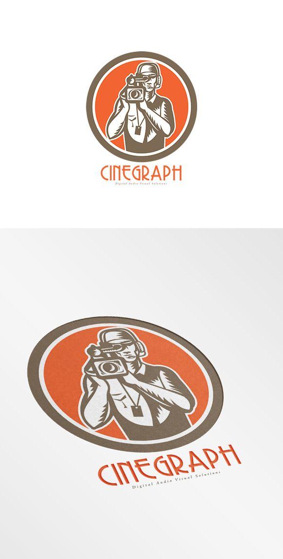 Cinegraph Digital Audio Video Soluti by patrimonio on @creativemarket