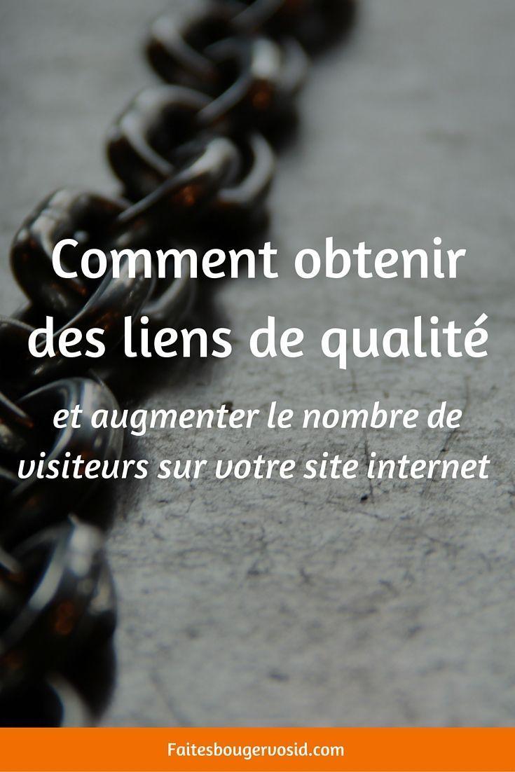 Quelle Strategie Pour Booster Le Trafic De Votre Site Grace A Vos Liens Trafic Internet Site Internet