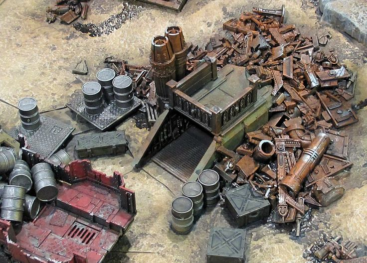 The Art of Warhammer 40,000; Ork Scenery | Thursday, 04 March | What's New Today | Games Workshop