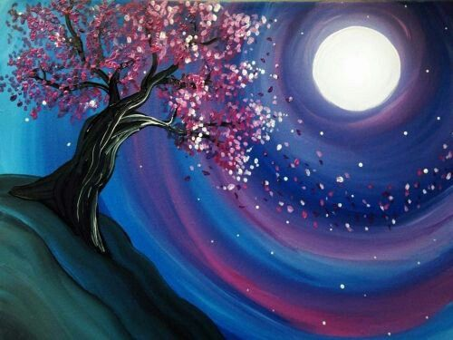 Moonlight.... ❤ Could have a goddess tree to go with the magical flavor
