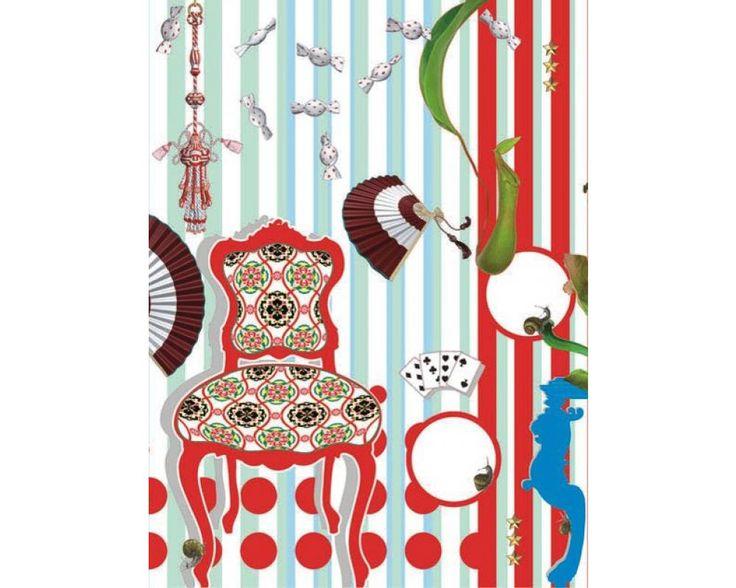 Carta da parati Nepenthes. Dimensioni: 0,78 x 1,04 m. Prezzo: 97.20 euro.  http://www.color24.eu/index.php