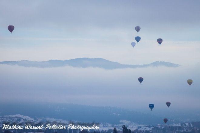 Ballooning weekend in Vernon, BC