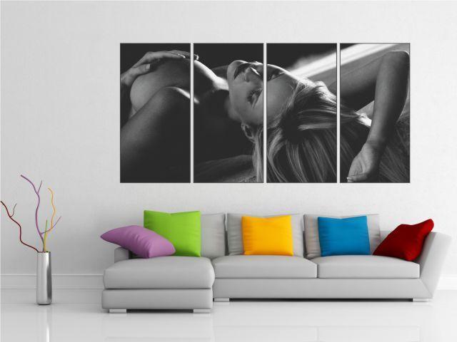 Multicanvas nud artistic 4 piese - cod E25