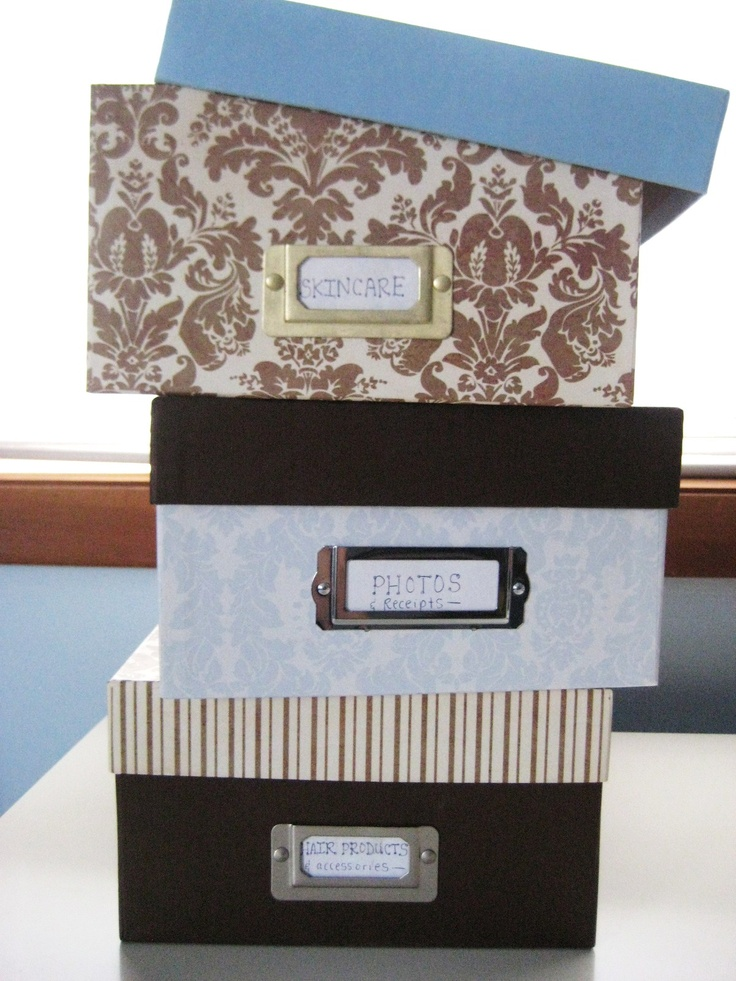 Multipurpose Storage Solution: Decorative Photo Boxes