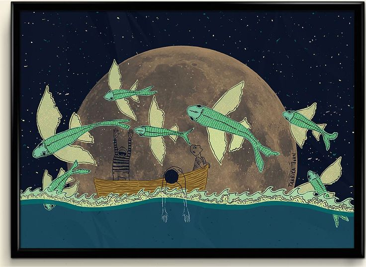 Flying Fish by Taarika John