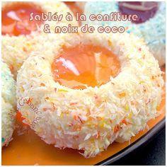 Sablés à la confiture et noix de coco de Djouza