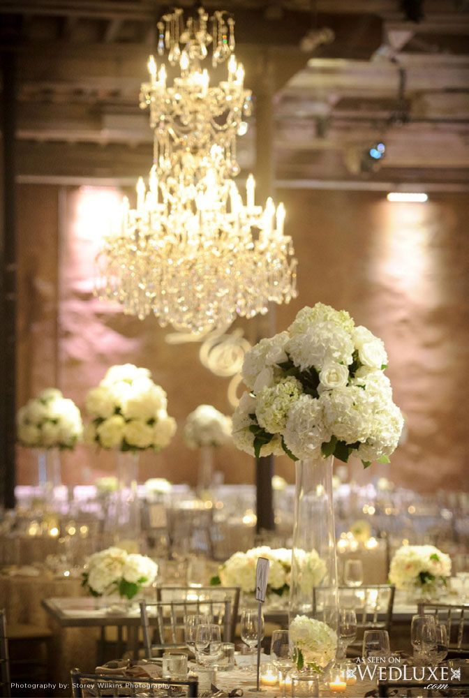 Beautiful floral and event decor design from http://5thelementevents.com/ as seen on wedluxe.com