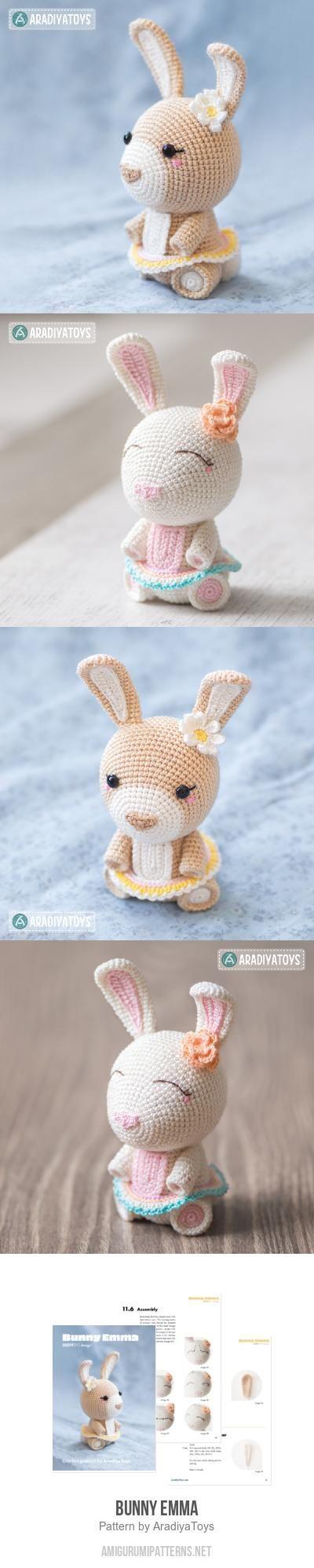 Bunny Emma Amigurumi Pattern