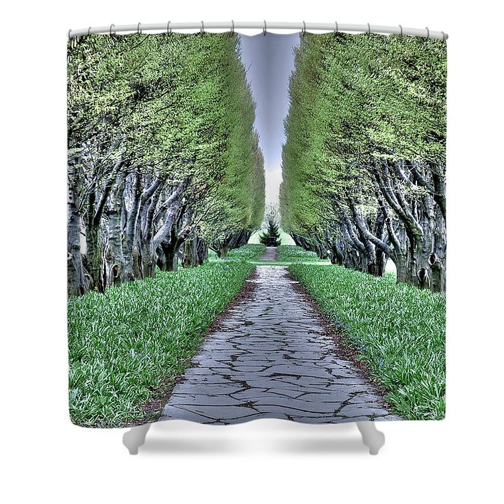 Standing At Attention Shower Curtain by Leslie Montgomery.