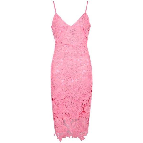 Boohoo Boutique Fi Crochet Lace Strappy Midi Dress | Boohoo (495.910 IDR) ❤ liked on Polyvore featuring dresses, sequin midi dress, pink sequin dress, bodycon midi dress, sequin maxi dress and spaghetti-strap maxi dresses