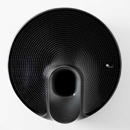 Wall mounted air purifier by Dezeen