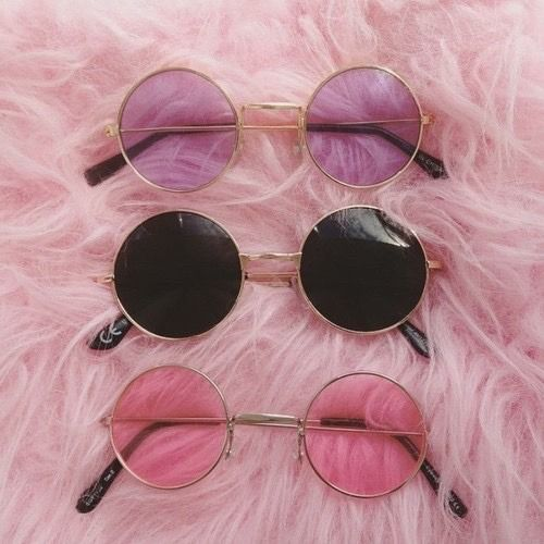 Rosey glasses — Rose coloured glasses 👓