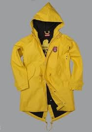 Yellow Rain Slicker