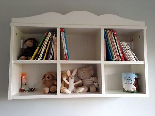 Hensvik Ikea White Childrens Wall Shelf Unit
