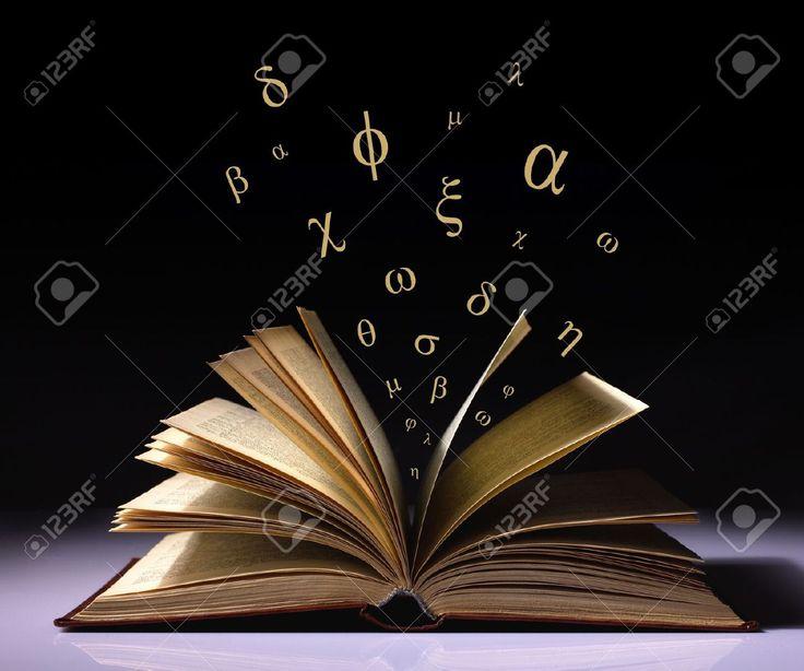 libro abierto con letras - Buscar con Google