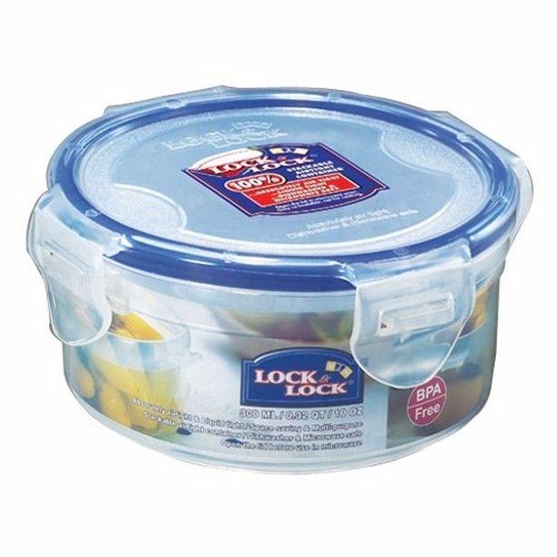 Nama Produk Lock N Lock Food Container Hpl932 Round Short 300ml