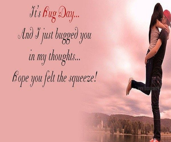 Happy Hug Day Latest Pictures Messages Quotes Message