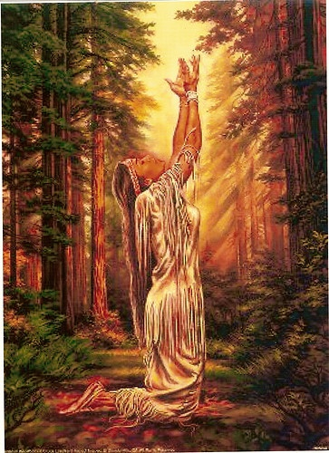 I want to give thanks to Father Sky & Mother Earth for the many blessings in my life...