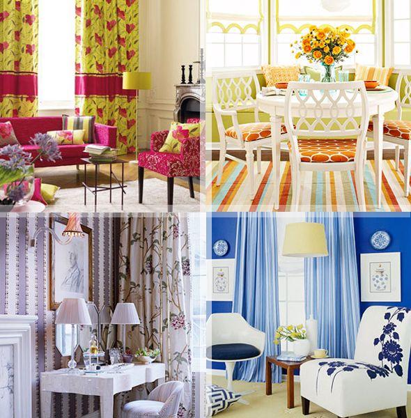 Раскрасим комнаты интересными сочетаниями
