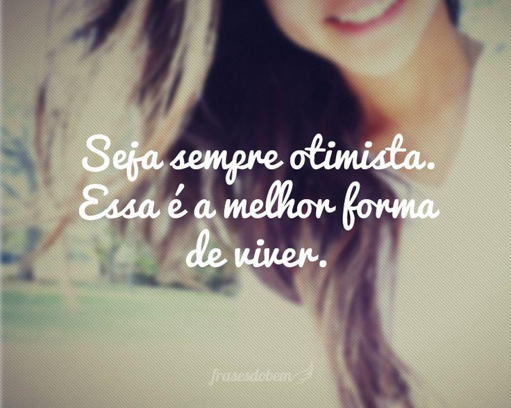 Frases De Otimismo Cheias De Fé: 1000+ Images About Frases E Pensamentos On Pinterest