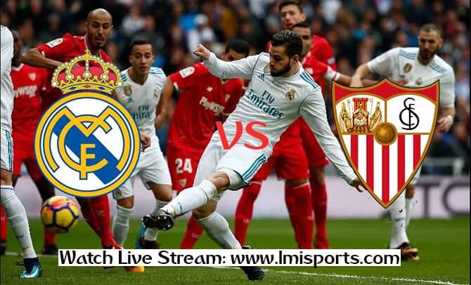 real madrid vs sevilla live streaming free