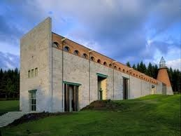 Centre d'Art Contemporain - Vassivière - Creuse - France - Aldo Rossi architecte
