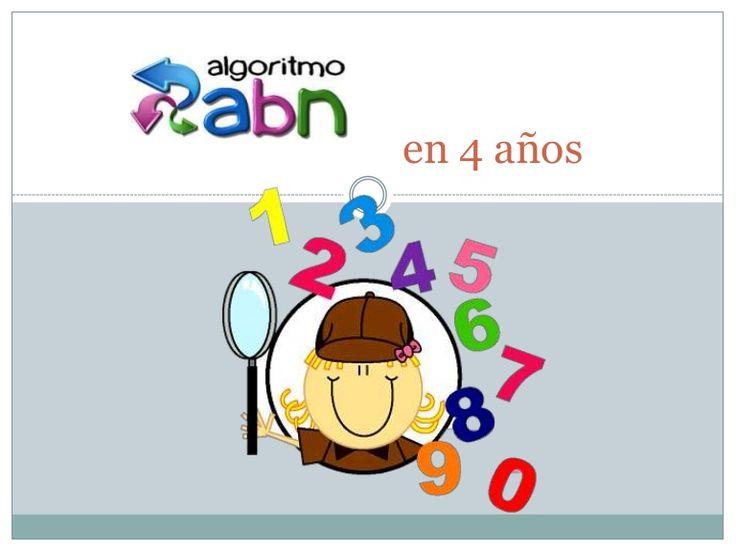 Metodología ABN con 4 años.