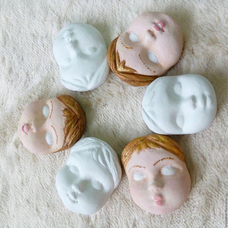 Купить Кукольное лицо для Тедди-долл - кукольное лицо, отпечаток лица, лицо для тедди-долл