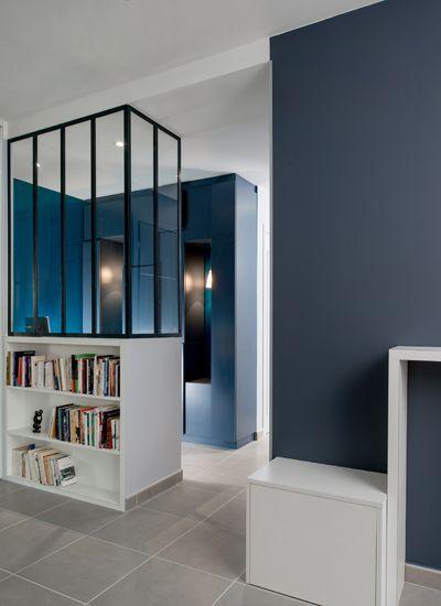 Un espace de caractère. Marion Lanoë, Agence d'architecture intérieure et décoration. Lyon. Coloriste, décoratrice, architecte d'intérieur diplômée.