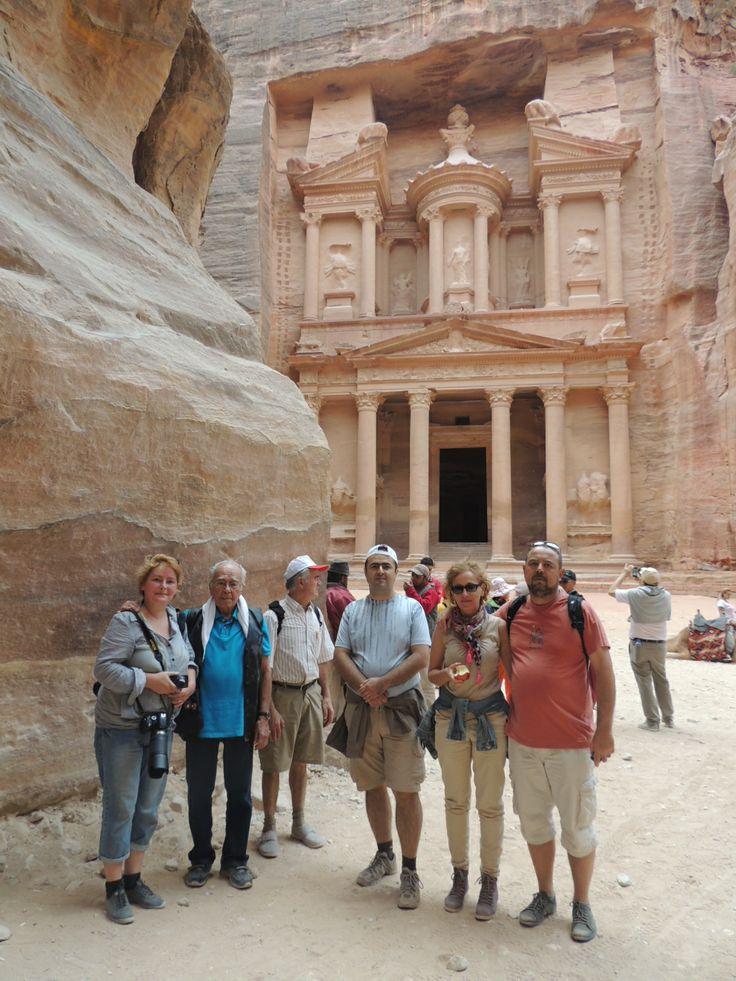 Israel - Iordania  Petra - orasul roz.