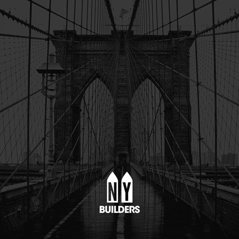 Logo design for NY Buildings General Contractor in New York city that does commercial construction work. Target audience: Landlords, Property Managers and apartment owners. #madeinbucharest #sncrtx