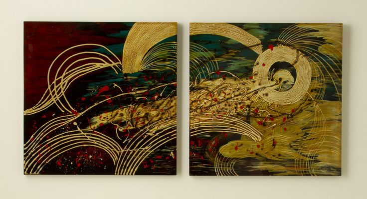 Lacquer Wall Art Set, Wall Art, Best Sellers - The Museum Shop of The Art Institute of Chicago