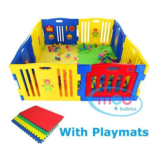 MCC Plastic Baby Playpen with Activity panel