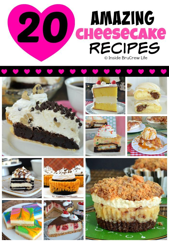 20 of the most amazing cheesecake recipes that we …