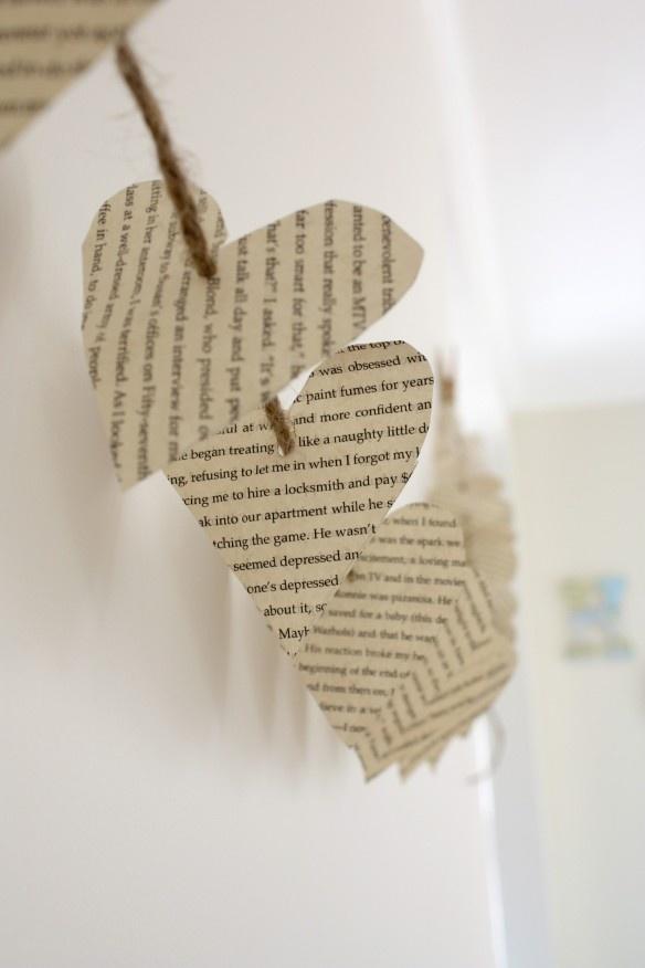 DIY heart garland how-to