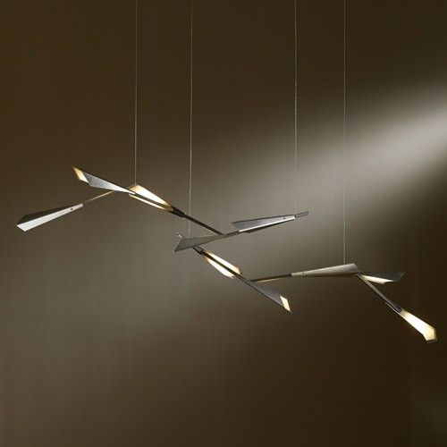 Quill Vintage Platinum LED Suspension Light
