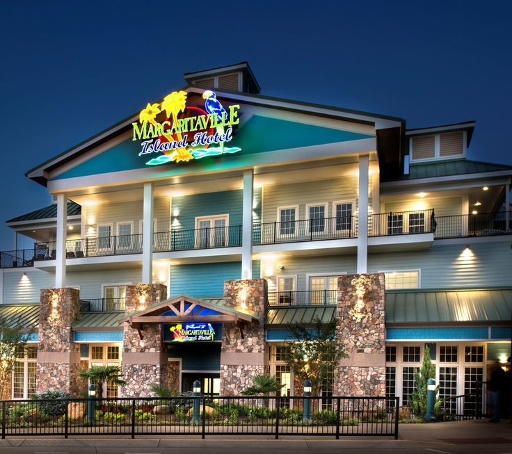 Margaritaville Island Hotel brings a staple to The Island in Pigeon Forge as it embodies exactly what The Island is all about, fun and relaxation!