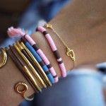 #DIY Sequin bracelet   By: HonestlyWTF