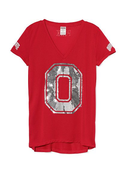 The Ohio State University Sporty Bling Top PINK