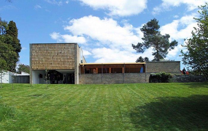 Varmings hus Villaen set fra vest