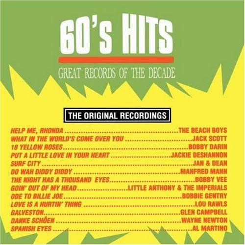 Various - 60's Hits Vol. 1, Black