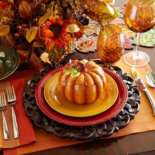 235 best TABLE SETTING IDEAS!! images on Pinterest | Harvest table ...