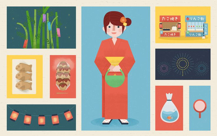 A Starter's Guide To Enjoying Summer Festivals In Japan | Tofugu - some vocabulary about Japanese matsuri!