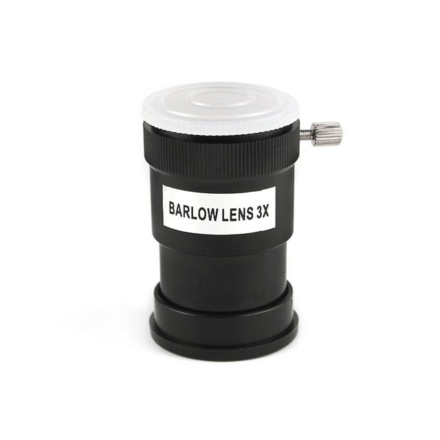 3X Barlow Lens Plastic for 1 25Standard Astronomical Telescope