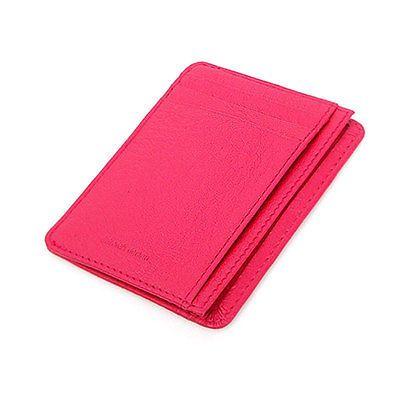 Leather Mini Slim Wallet Women Useful Card Wallets Small Purse Business Card