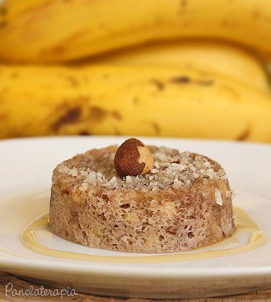 PANELATERAPIA - Blog de Culinária, Gastronomia e Receitas: Bolinho Banana de Micro-ondas