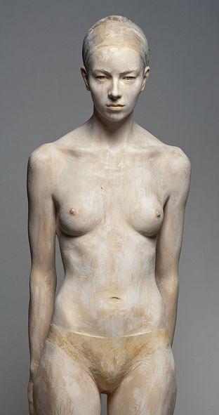 Wood Sculpture by Bruno Walpoth