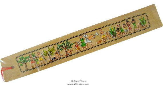 Bookmark Handmade Stationery Oriya Rural Life Indian