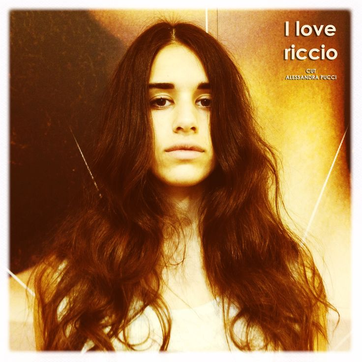 Sorry, I can't hear you over the volume of my #hair.  Cut Alessandra Pucci  #ilovericcio